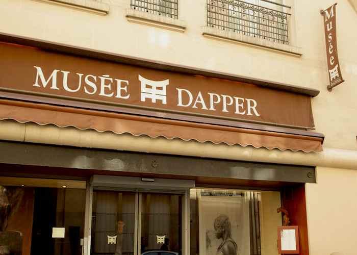 Façade du Musée Dapper