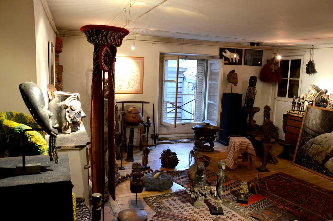 L'étage de la Galerie