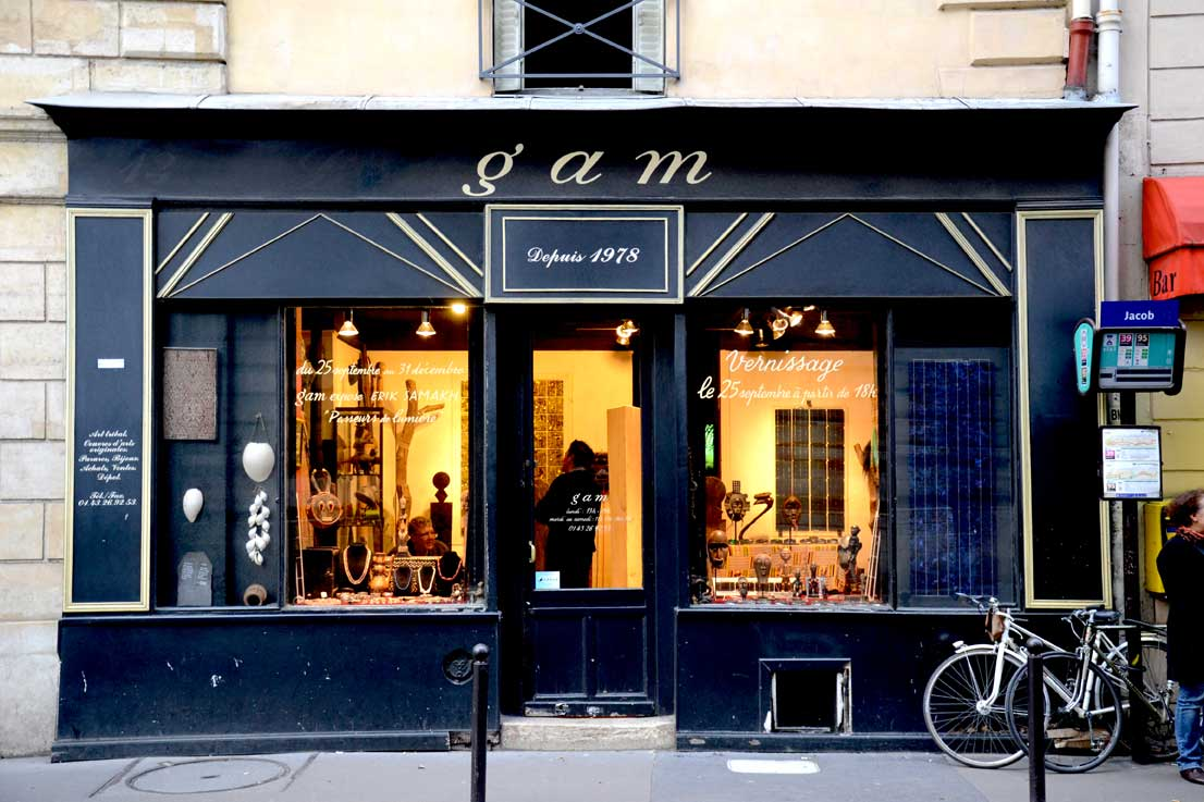 Façade Gam - Paris