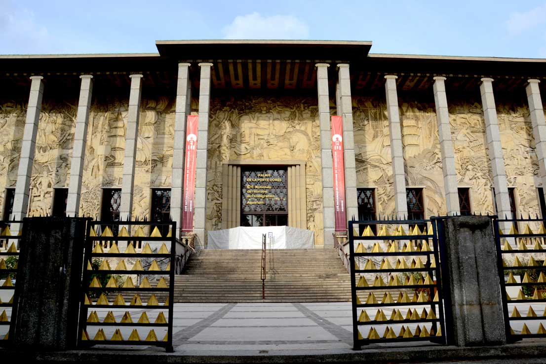 Façade du musée - Palais de la Porte Dorée