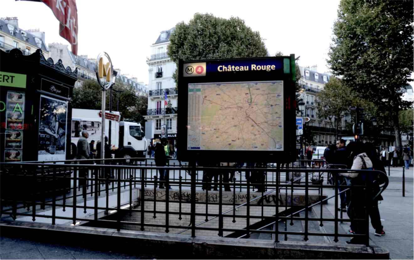 Chateau Rouge - Little Africa Paris