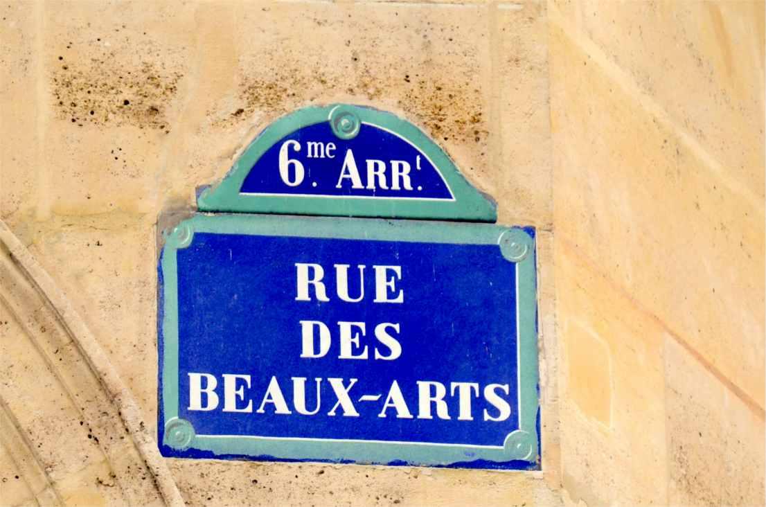 Rue des Beaux-Arts - Paris