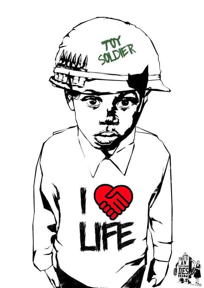 Enfant soldat I Fred Ebami