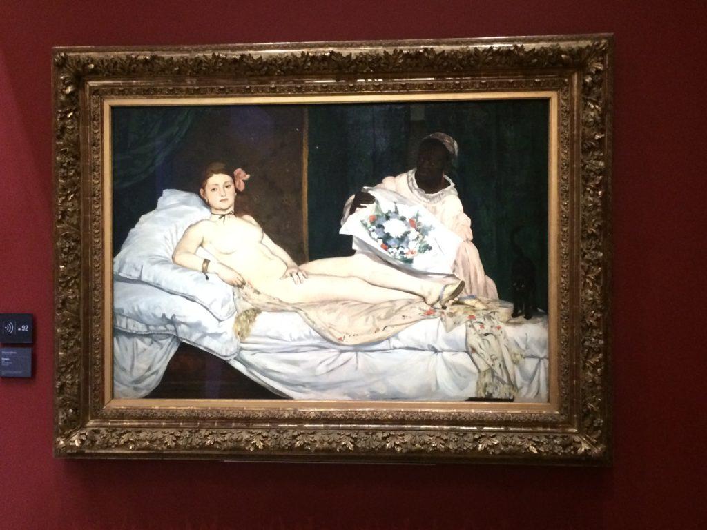 Edouart Manet, Olympia, 1863, Paris. © Musée d'Orsay