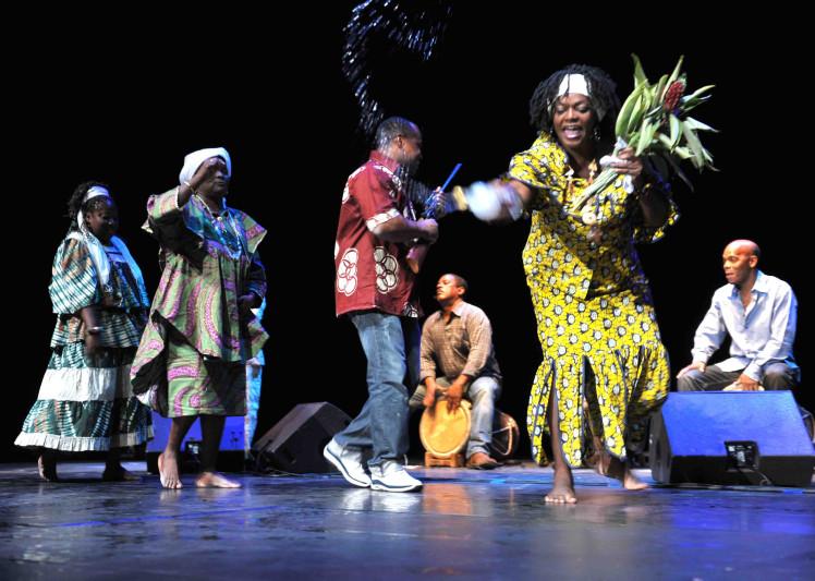La danse Grap A Kongo en Guadeloupe