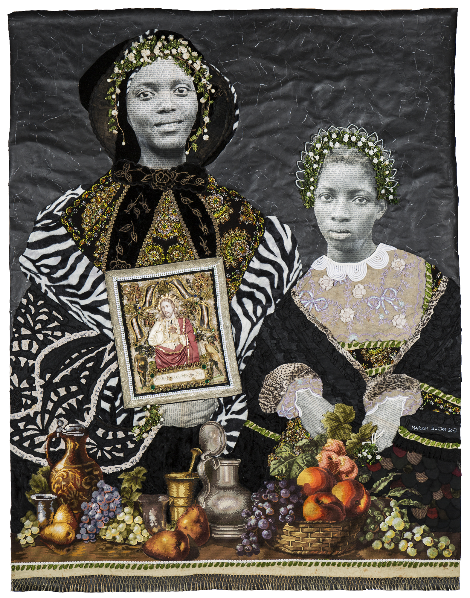 Marion Boehm, Holy Shine - Image courtesy ArtCo Gallery