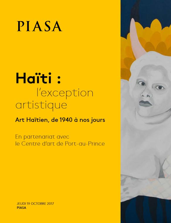 Annonce - Haïti l'exception artistique 2017 - Piasa