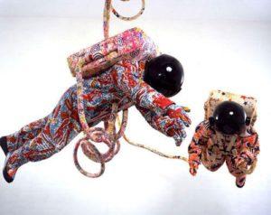 SPACEWALK ©2002, Yinka Shonibare, MBE.