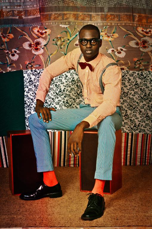 Omar Victor Diop Thierno, 2012 Le studio des vanités © Omar Victor Diop Courtesy Galerie MAGNIN-A, Paris.