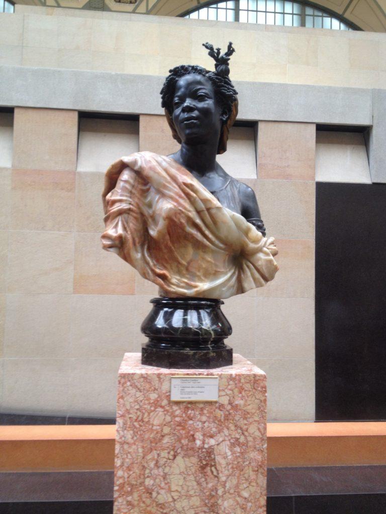 """Charles Cordier, """"Nègre du Soudan"""". © Musée d'Orsay"""