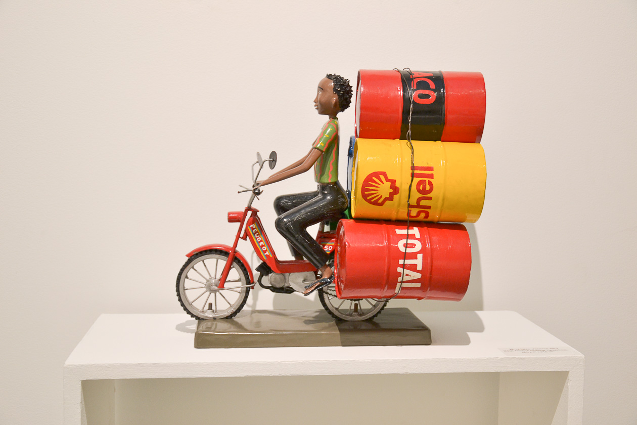 Le livreur d'essence, Didier Ahadji, © Little Africa