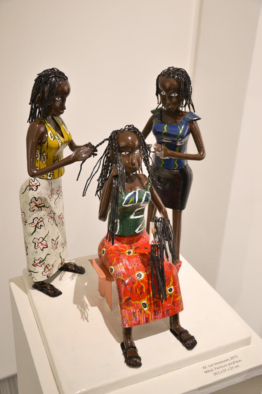Les tresseuses, Didier Ahadji, © Little Africa