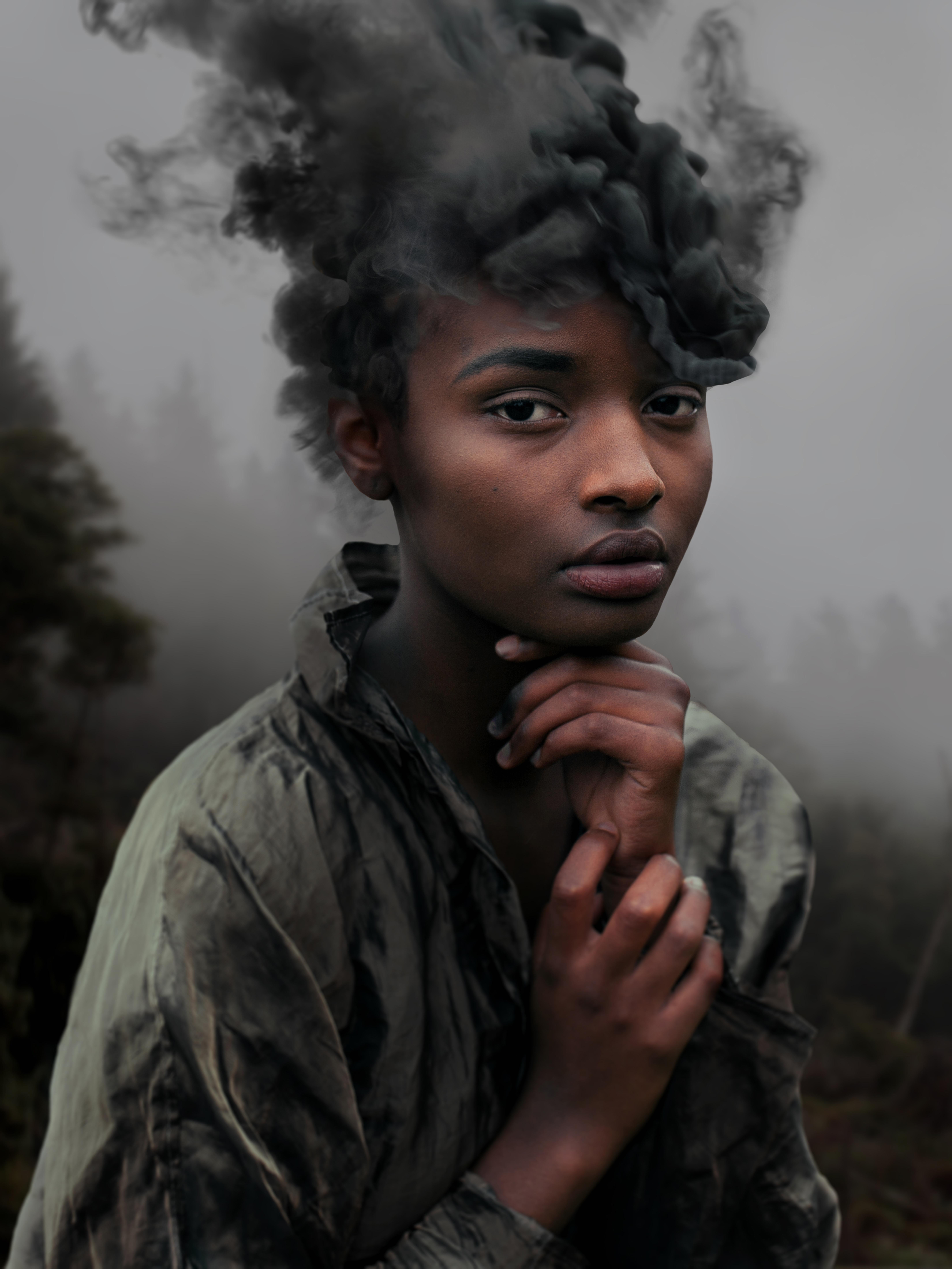 David Uzochukwu, Wildfiret - Courtesy Galerie Number 8