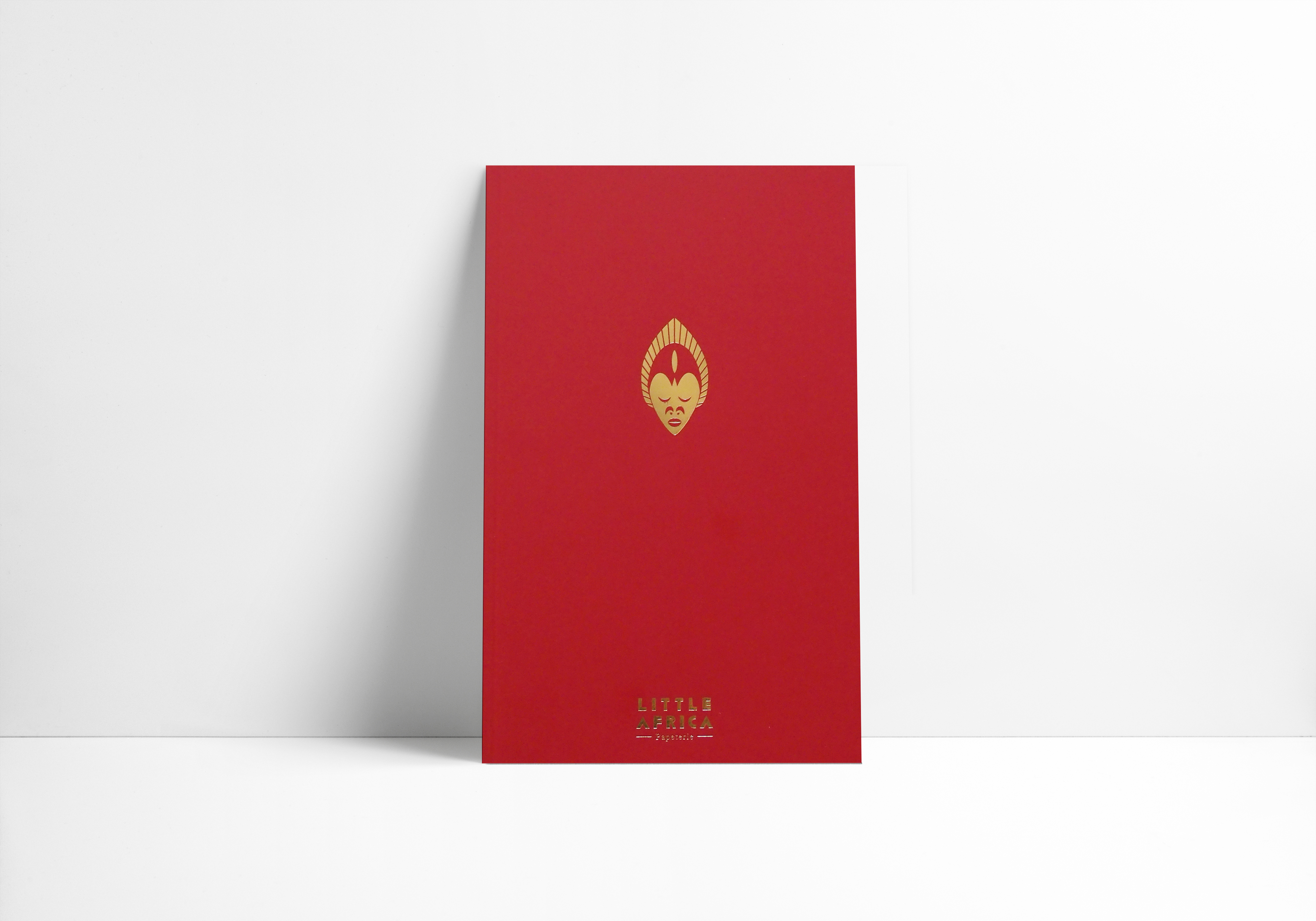 Little Africa - notebook rouge