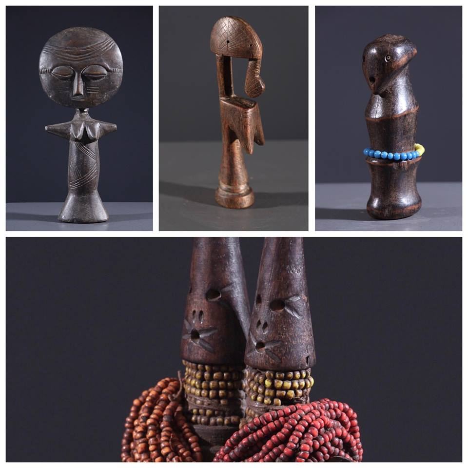 Les différentes poupées selon les ethnies