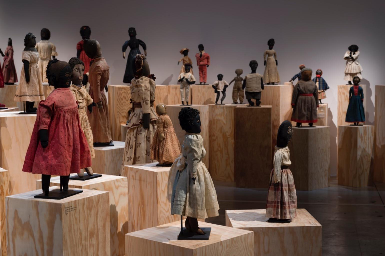 """""""Black dolls"""" exposition à la Maison Rouge"""