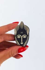 Brooch Baoulé_Collection Passeports